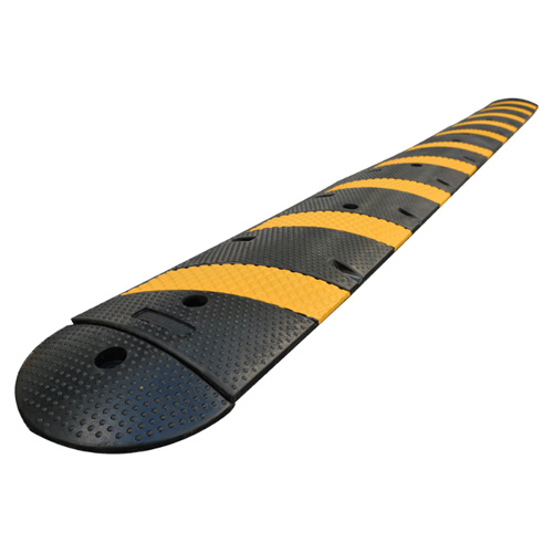 6′ Heavy-Duty Single Lane Rubber Speed Bump
