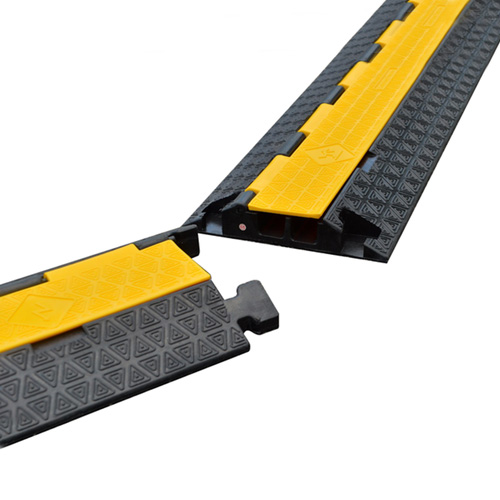 2 Channel Industrial floor Cable Protector